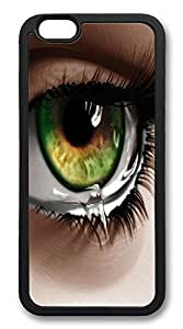 ACESR Eye Tears Hipster iPhone 6 Case TPU Back Cover Case for Apple iPhone 6 4.7inch Black