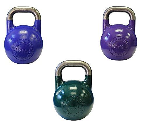 Ader Pro-Grade Int l Kettlebell 8kg,12kg,16kg,20kg,24kg,28kg,32kg