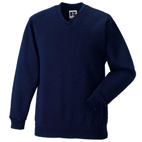 Russell Athletic V-Neck Sweatshirt - 4