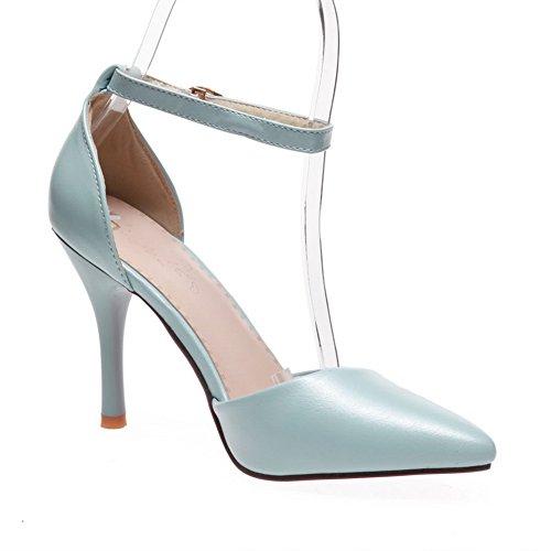Compensées 1TO9 Inconnu Bleu Sandales 5 Femme Bleu 36 6qxdwEfx