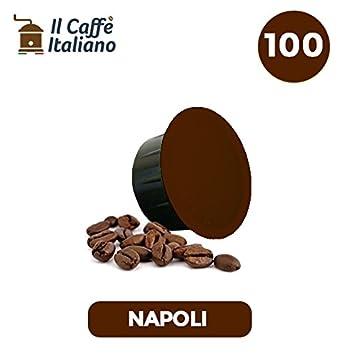 100 Cápsulas de Café compatibles Caffitaly - Mezcla Napoli - Caffè italiano - FRHOME: Amazon.es: Alimentación y bebidas