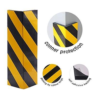 GUEQUITLEX Garage Wall Protector Foam Wall Corner Guard for Parking Garages - Wall Edge Protector Protect Your Car - Garage Wall - Wall Corner Edge and Bumpers Corner Guards: Automotive