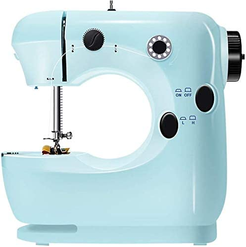 4YANG Mini máquina de coser eléctrica, hogar sastres principiantes ...