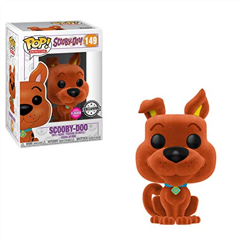 Funko POP! Orange Flocked Scooby Doo #149
