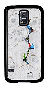 Envato art PC Case Cover for Samsung S5 and Samsung Galaxy S5 Black