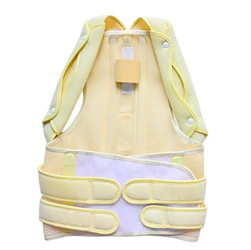 JZLV Adjustable Therapy Back Support Braces Belt Band Posture Shoulder Corrector for Fashion Health , l by JZL (Image #7)