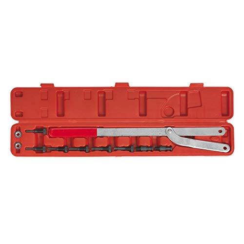 SEALEY Universal-Pulley /& L/üfterkupplung Holder Set