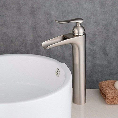 Oudan Basin Mixer Tap Bathroom Sink Faucet The copper falls blackAntique Cold Water mixing console sink basin Faucet