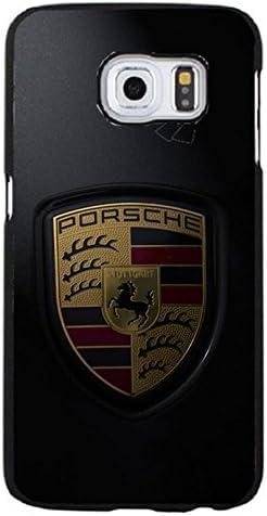 Luxury Logo Cover,Porsche Logo Phone Case for Samsung Galaxy S6 ...