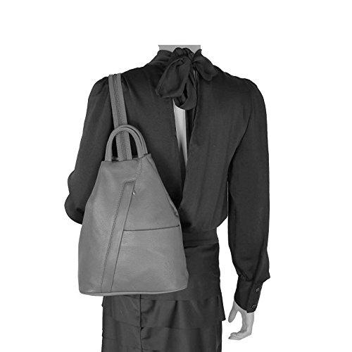 Beautiful main dos Only Blanc pour OBC 25x30x11 porté à ca Weiß au Noir Marron femme Sac Couture cm BxHxT wg5Rq