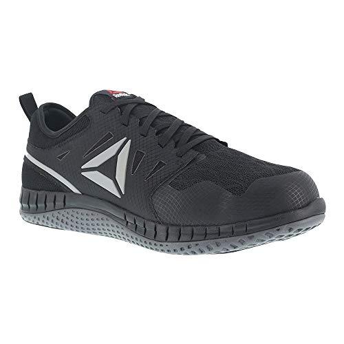 Reebok Mens Black Mesh Work Shoes Steel Toe Athletic Oxfords 16 -