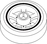 New John Deere Crankshaft Dampener Pulley RE57603 Fits JD 9510