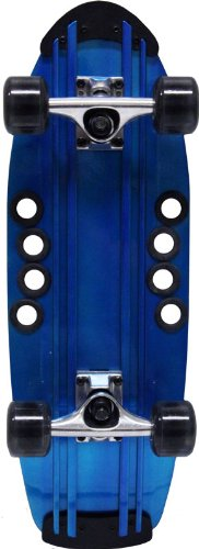 Beercan Boards 24-Inch Micro Brewster Complete Skateboard, Blue (Complete Skateboard Micro)