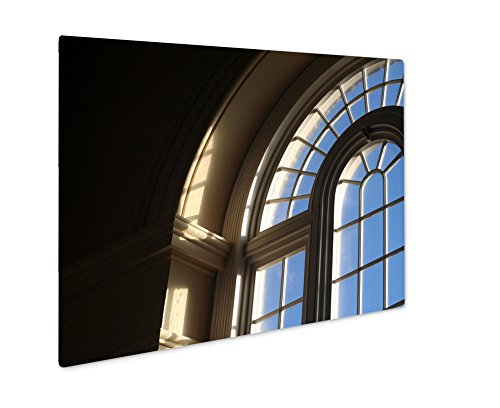 Ashley Giclee Metal Panel Print, Arched Window, 16x20 by Ashley Giclee