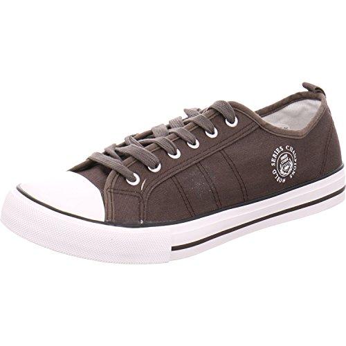 Hengst Footwear B.V. 636201 2 - Zapatos de cordones de Lona para mujer gris oscuro