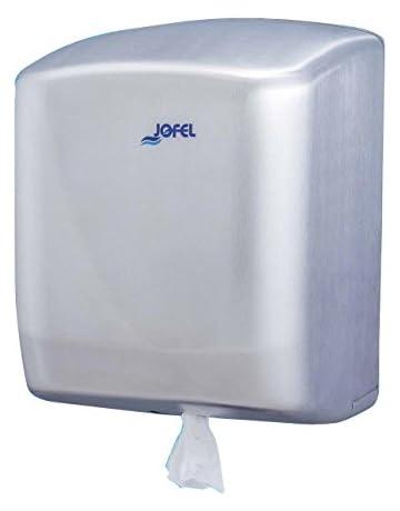 Jofel AG45000 Futura Dispensador de Papel, Mecha, Inox Satinado