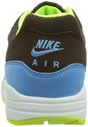Nike  Air Max 1 Essential - Zapatillas de running para Hombre Baroque Brown / University Blue / Volt / White