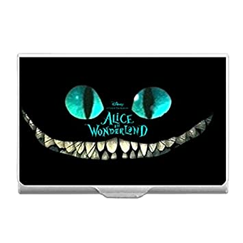Alice In Wonderland Diy Custom Business Card Holder Name Case Durable Aluminum Box
