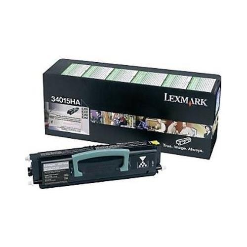 Lexmark 34015HA OEM Toner - E330 E332 E340 E342 High Yield Return Program Toner (6000 Yield)