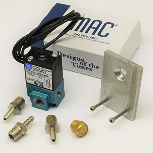Circuit Se7en Simple Bracket & FIttings with genuine MAC 3 port solenoid Boost valve 35A-AAA-DDBA-1BA