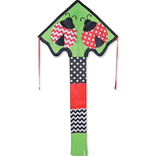 Large Easy Flyer Kite - Lively Ladybug