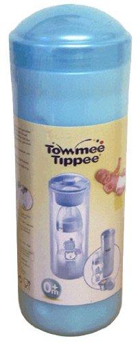 Tommee Tippee 30322 0011 - Warmhaltebox mit Milchpulverportionierer, blau