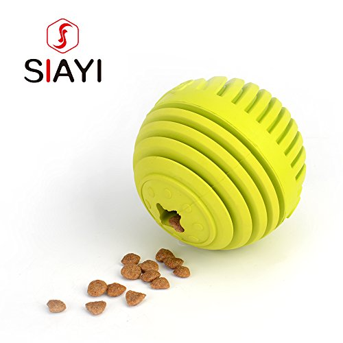siayi-bite-resistant-dog-drain-food-ball-pet-toy-food-graded-silicone-dog-chew-ball-demountable-trea