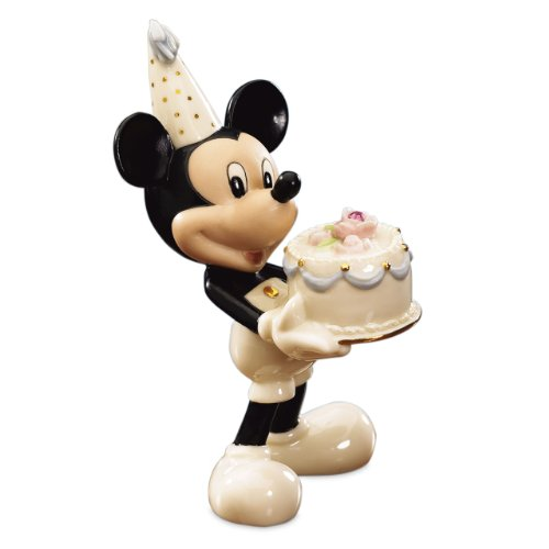 Lenox Mickey's Happy Birthday To You- June