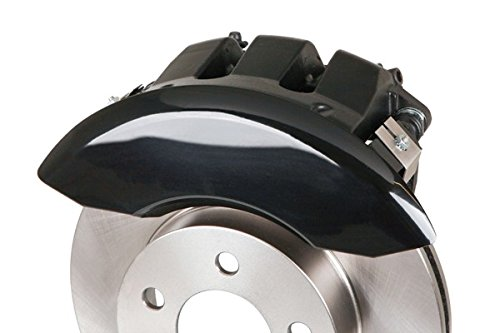 MGP Caliper Covers 12001SMGPBK 'MGP' Engraved Caliper Cover with Black Powder Coat Finish and Silver Characters, (Set of 4) by MGP Caliper Covers (Image #3)