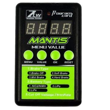 (RC Toys & Hobbies RC Airplane Parts - ZTW Program Card For Series ESC Electronic Speed Control With LED - 1 x ZTW Mantis ESC Programming Card)