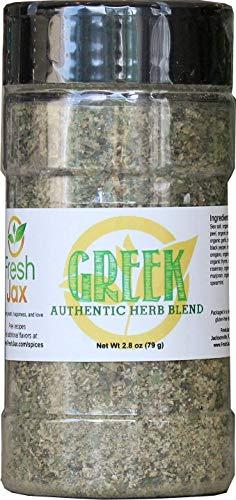 FreshJax Gourmet Spices and Seasonings (Organic Greek Seasoning)