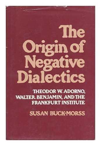 The Origin of Negative Dialectics: Theodor W. Adorno, Walter Benjamin and the Frankfurt Institute