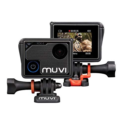 Veho Muvi KX-1 NPNG Action Camera | KX-Series | Handsfree Camcorder| WiFi | 8GB microSD Card | 4k Action Cam |12MP Photo | Waterproof Housing (VCC-008-KX1-NPNG)