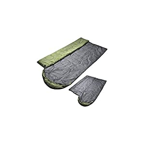DMGF Sleeping Bag Envelope Lightweight Portable Waterproof Comfort With Compression Sack Perfect For 4 Season Traveling Camping Hiking Outdoor 18075Cm,Green