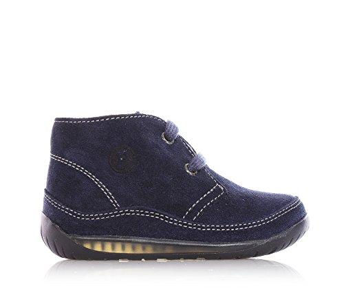 Aprender Sapato Azul Com Atacadores De Camurça, Ideal Para Rastreamento E Caminhada, Jovem - Falcotto