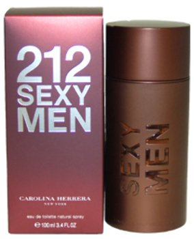 (Men Carolina Herrera 212 Sexy Men EDT Spray 3.4 oz 1 pcs sku# 1759151MA)