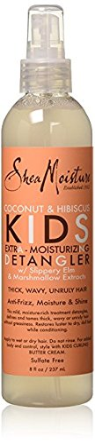 Shea Moisture Kids Extra-Moisturizer Detangler, Coconut & Hibiscus, multi, 8 Ounce California Daily Moisturizing Conditioner