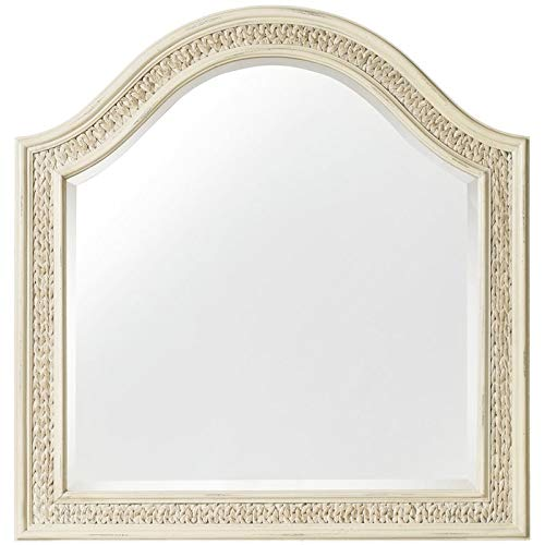 Hooker Furniture Sandcastle Mirror with Sea Grass by Hooker Furniture