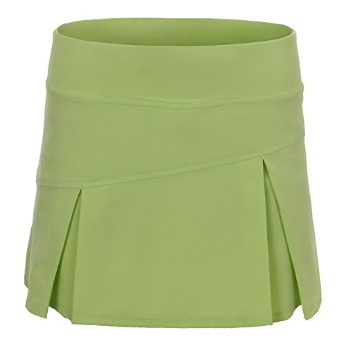 Lija Women`s Topspin Tennis Skort Pear Green-(690309571792) by Lija