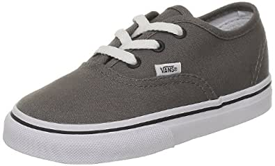 0281350bac47 Image Unavailable. Image not available for. Color  Vans Boys  Authentic -  Pewter Blue ...