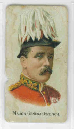 Maj Gen  John French Circa 1900 Sweet Crop Cigarettes  Poor  Ripped