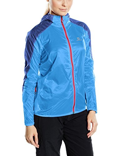 Salomon Fast Wing Women's Jacket blue Bl/Dolomite B Size:L by Salomon