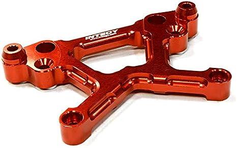 5T /& 5B2.0 Integy RC Model Hop-ups BAJ105SILVER Billet Machined Type III Rear Bumper Set for HPI Baja 5B