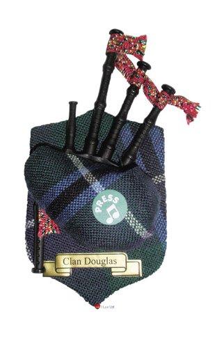 Douglas Clan Musical Fridge Magnet (Clan Magnets)