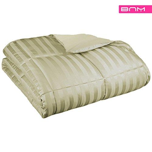 (All Season Down AlternativeTwin/Twin XL Reversible Blanket, Light Weight Year Around Warm Blanket with Reversible Matte Finish, Sage)