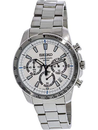 (Seiko Chronograph Overseas Model SSB025PC Men's Watch Japan import)