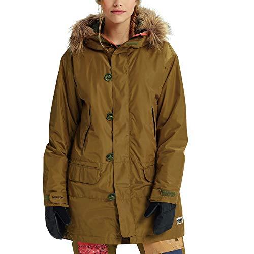 Burton Women's Shadowlight Parka Jacket, Large, Hickry/Bondedana