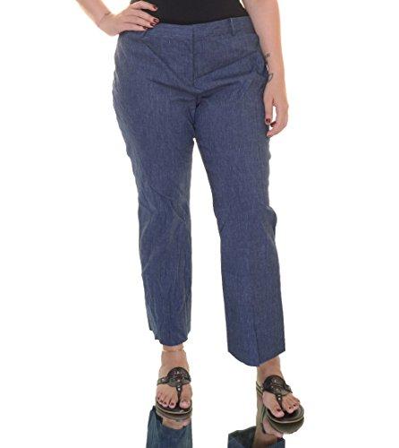 Michael Michael Kors Womens Linen Pant (MICHAEL Michael Kors Womens Linen Blend Flare-Leg Cropped Pants Navy 16)