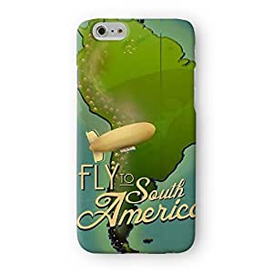 South America Full Wrap High Quality 3D Printed Case, Snap-On Protective Hard Back Cover for Apple? iPhone 6 by Nick Greenaway
