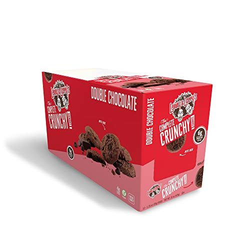 Lenny & Larry's The Complete Crunchy Cookie, Double Chocolate, 12 Count,Pack of 1